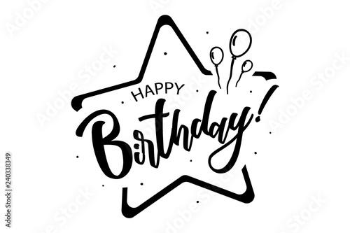 Fotografia, Obraz  Happy birthday to you card
