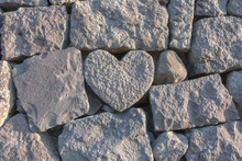 Stone Heart In The Wall Near M...