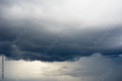 Foto  Blurred background with dramatic sky