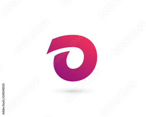 Obraz Letter O number 0 logo icon design template elements - fototapety do salonu