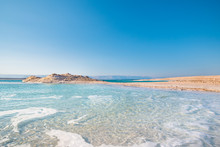 Amazing Dead Sea Beach. View O...