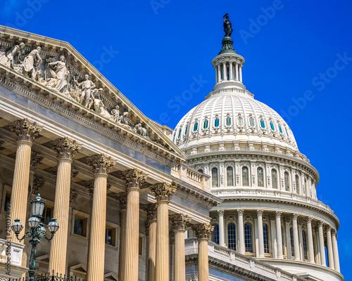 Fotografie, Obraz  U S Capital Building in Washington DC