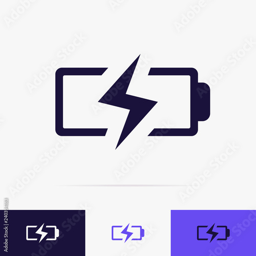 battery charging icon vector set battery low icon for energy symbol mobile phone lightning sign energy indicator power station electricity car sign 10 eps buy this stock vector and explore similar battery charging icon vector set