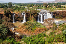 Blue Nile Waterfalls Near Bahi...