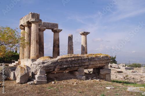 Fotografie, Obraz  Corinthian Temple of Apollo