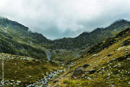 Canvas Prints Eastern Europe Transfagarasan Highway in Romania Carpathians
