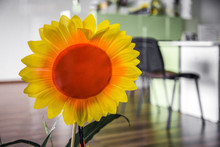 Bright Artificial Sunflower On...