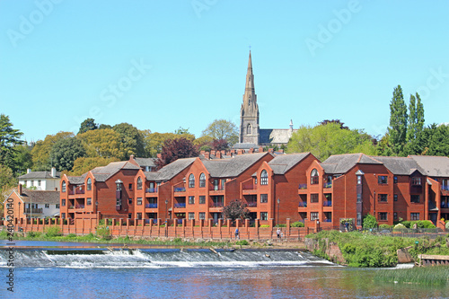 Photo  Exeter by the River Exe