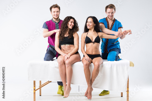 Fotografia  Theme massage and body care