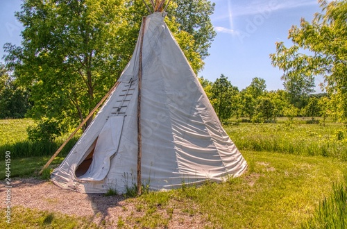 Fotografie, Obraz  Upper Sioux Agency is a State Park in Southern Minnesota by a Indian Reservation