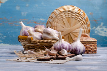 Raw Organic Garlic