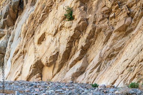 Base of the Titus Canyon wall in Death Valley National Park, California, USA Canvas-taulu