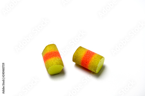 Fotografia, Obraz  A pair of earplugs