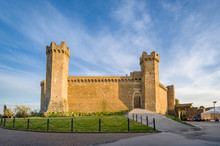 Front View Of Montalcino Medie...