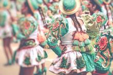 Dancers At Oruro Carnival In B...