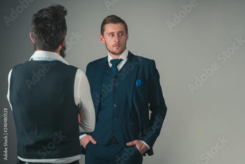 Foto  The details make the suit