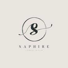 Simple Elegant Letter S Logo W...