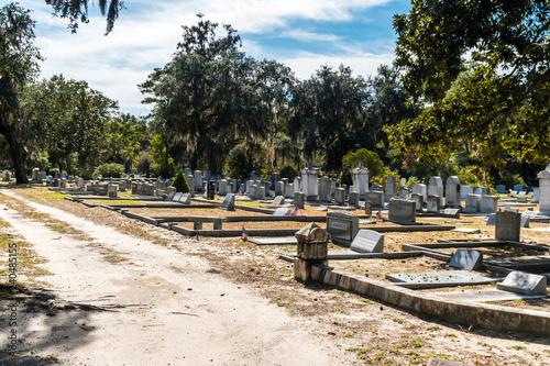 Keuken foto achterwand Kanaal Bonaventure Cemetery in Savannah