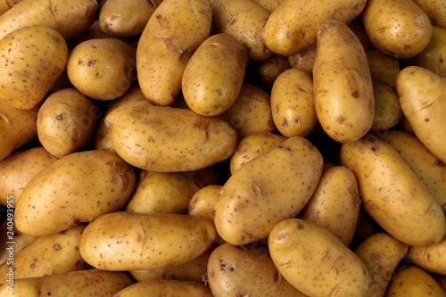 Carta da parati potato Close up