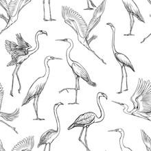 Seamless Pattern, Background W...