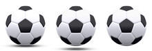 Black And White Soccer Ball In...
