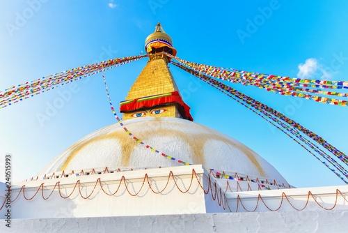 Fotografie, Obraz  Boudhanath Stupa, a Famous Landmark in Kathmandu City, Nepal
