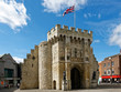 canvas print picture - England - Southampton - Stadtmauer - Stadttor