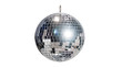 canvas print picture - disco ball for dancing in a disco club