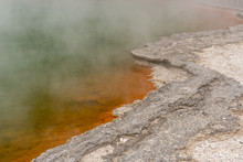 The Edge Of The Champagne Pool...