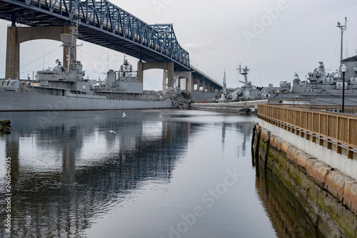Photo Fall River Battleship Cove