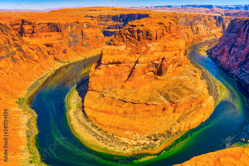 Foto op Plexiglas Verenigde Staten Horseshoe Bend is a horseshoe-shaped incised meander of the Colorado River.