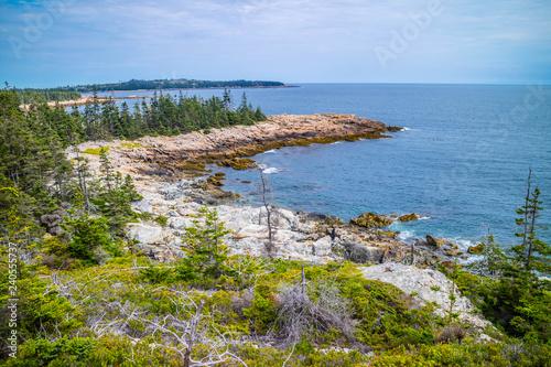 The lovely Duck Harbor Isle au Haut in Acadia National Park, Maine Canvas Print