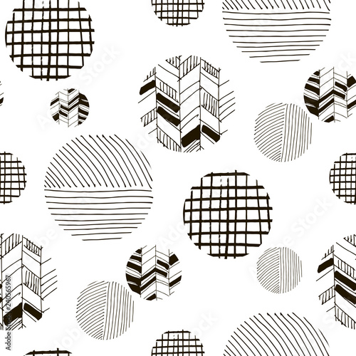 Recess Fitting Graphic Prints Abstract seamless pattern24