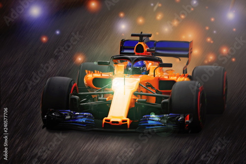 Photo sur Aluminium F1 scintille in Formula 1