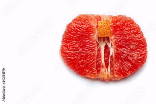 Fotografie, Obraz  Vagina symbol. Sex concept. Female health