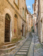 Scenic sight in Todi, ancient town in the Province of Perugia, Umbria, central Italy.