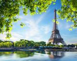 Fototapeta Fototapety z wieżą Eiffla - Majestic Eiffel Tower