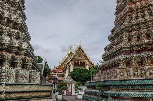 Foto  Wat Pho temple in Bangkok, Thailand