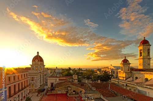 Fotografie, Obraz  Panorama Stadt Cienfuegos