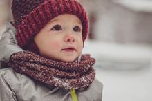 Happy Child, Boy Or Girl, Play...
