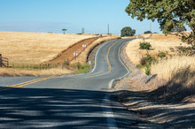 Winding Hilly Road