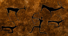Image Of Ancient Hunting On Th...