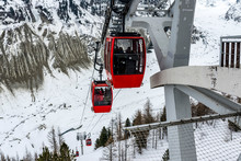 Cable Car In Mer De Glace, Cha...