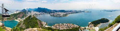 Photo  panorama of the Guanabara bay Ian Rio de Janeiro