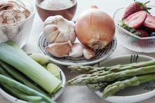 Variety Of Prebiotic Foods, Ra...