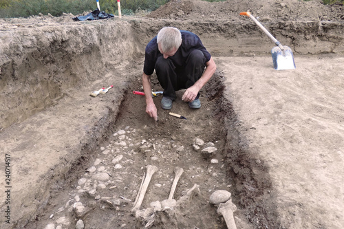 Photo Archaeological excavation