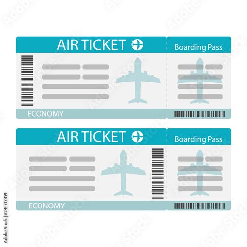 Fototapeta Air ticket icon