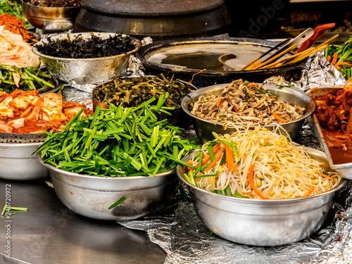 Traditional Korean fermented food Seoul, South Korea.