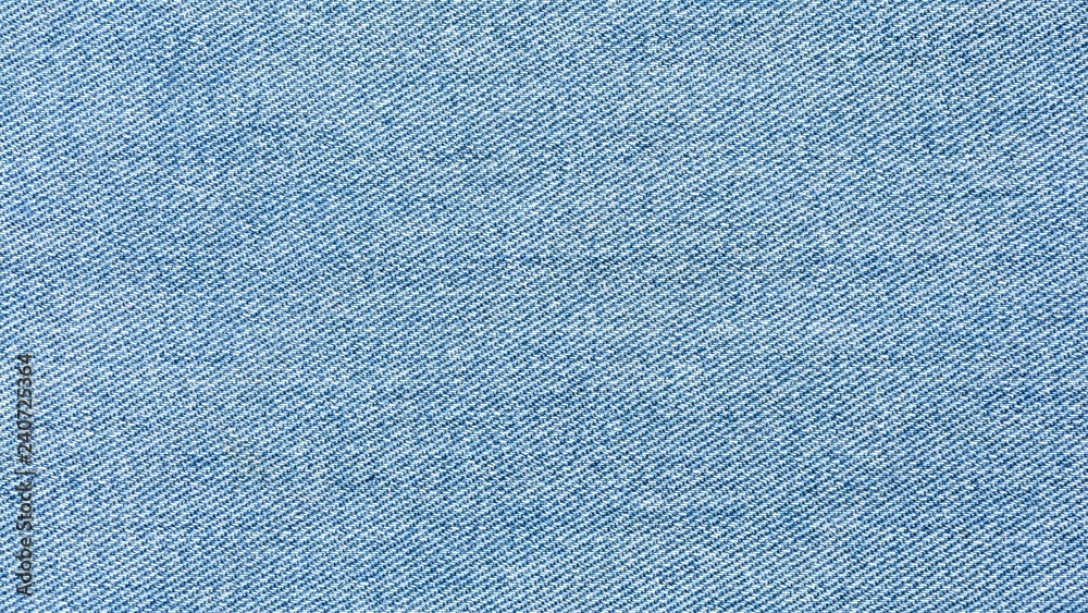 Fototapety, obrazy: old pale blue denim jean texture
