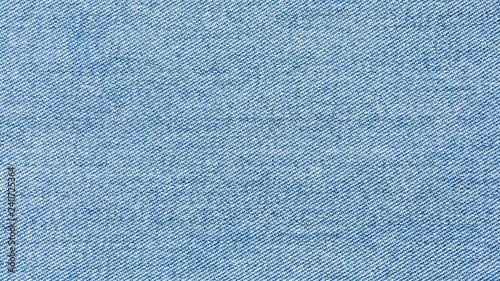 old pale blue denim jean texture Canvas Print